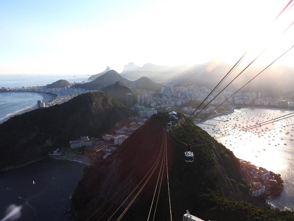 one week in rio itinerary sugarloaf