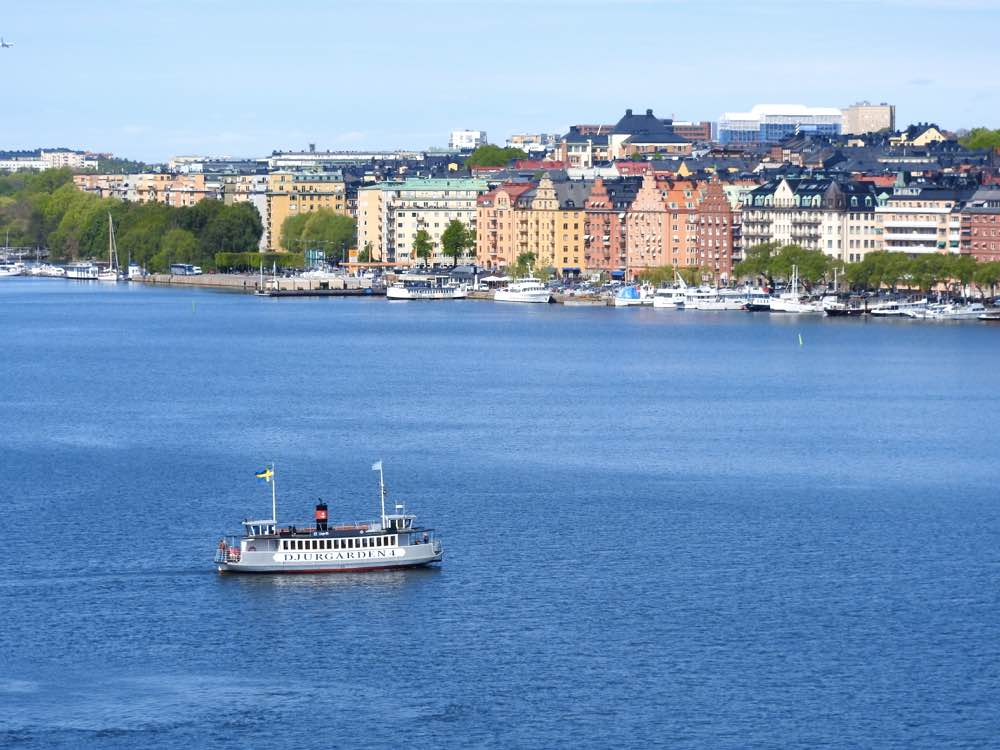 stockholm on a budget ferry boat