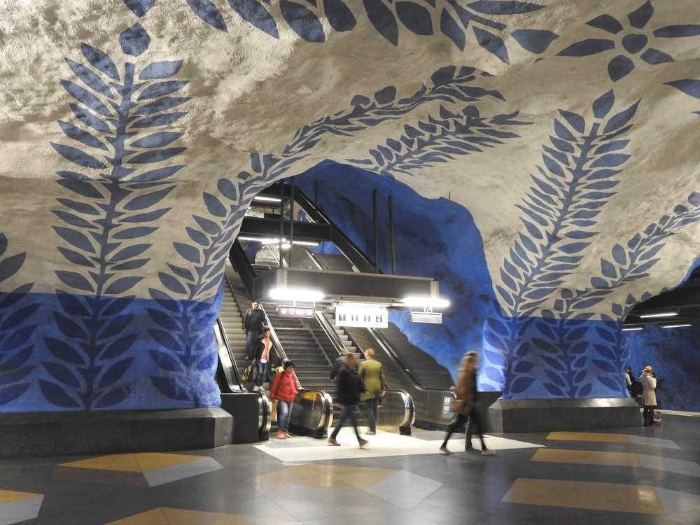stockholm itinerary three days tips sweden tbana metro