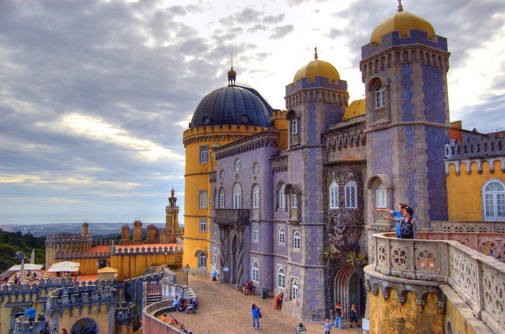 porto or lisbon daytrip sintra palace