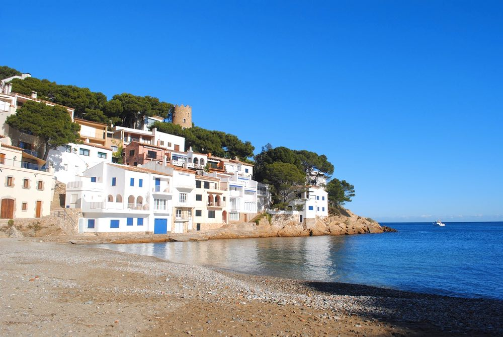 best day trips from barcelona begur beaches costa brava