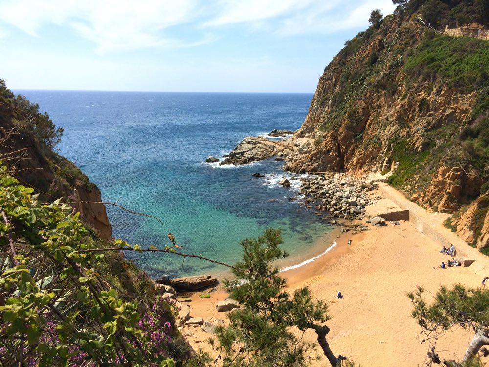 best day trips from barcelona getaways tossa beach