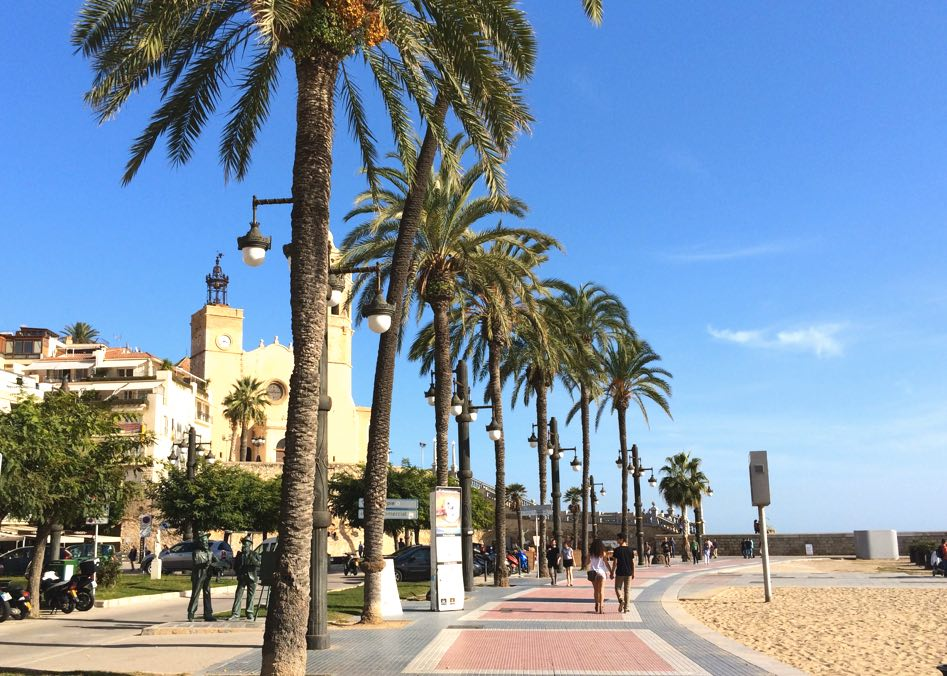 best day trips from barcelona sitges beach