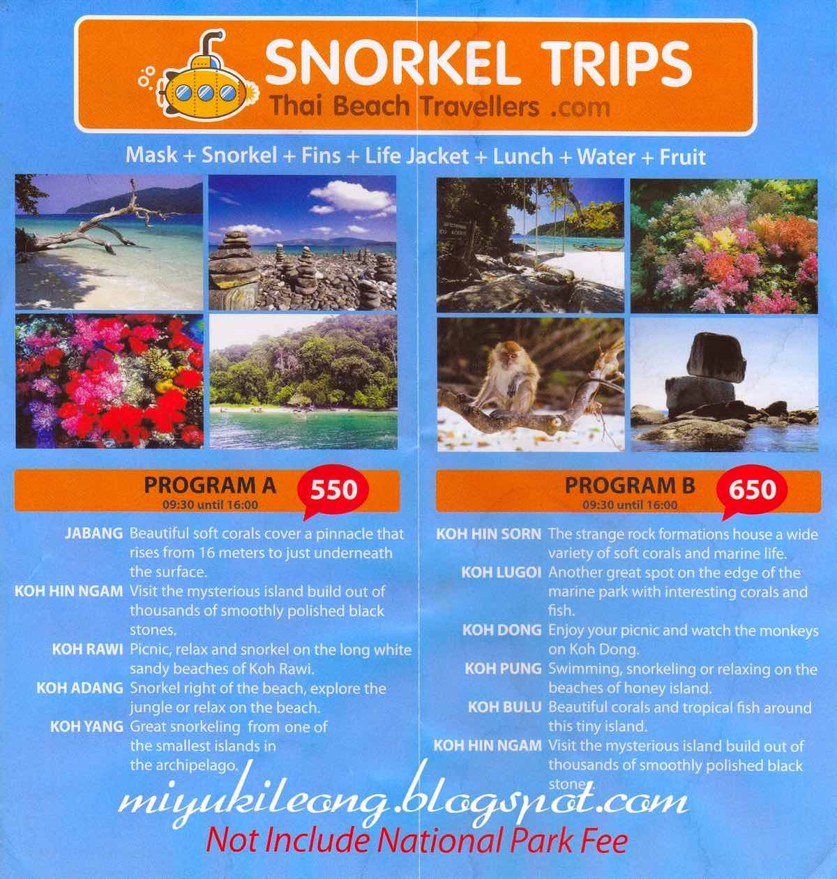 guide koh lipe blog snorkeling day trips