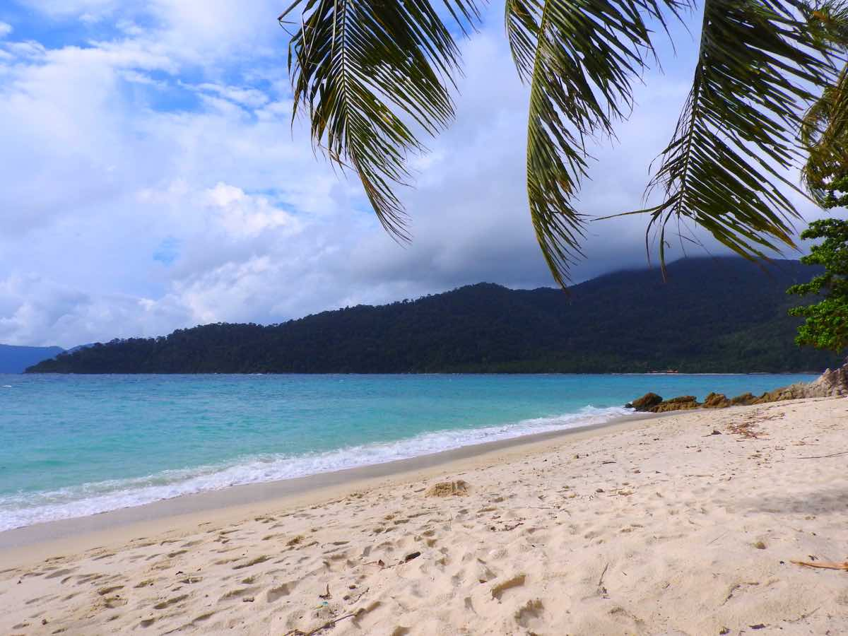 guide koh lipe blog sunset beach palm tree tropical