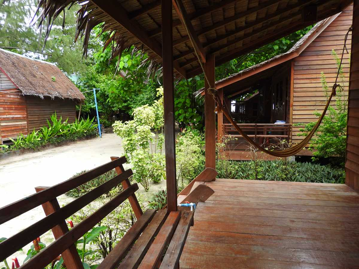 koh lipe zanom sunrise resort porch