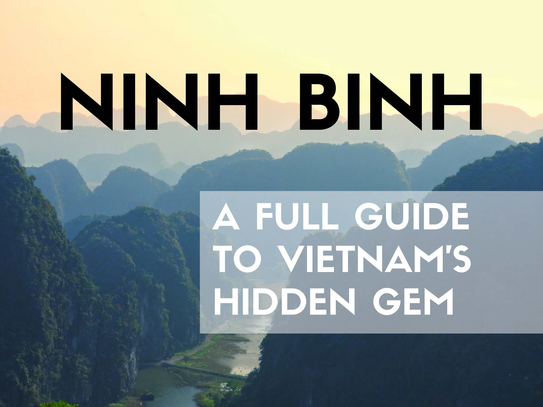 ninh binh itinerary and travel guide