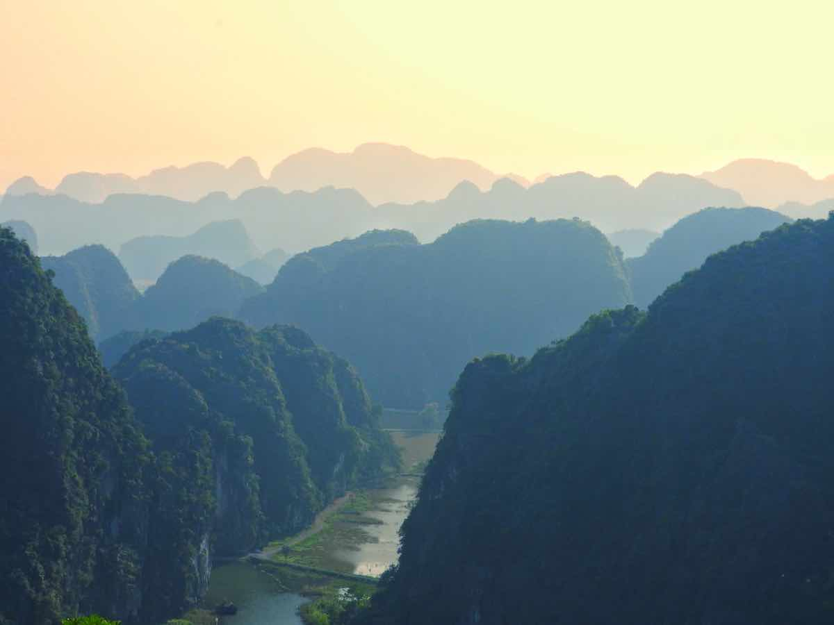 ninh binh travel guide limestones view