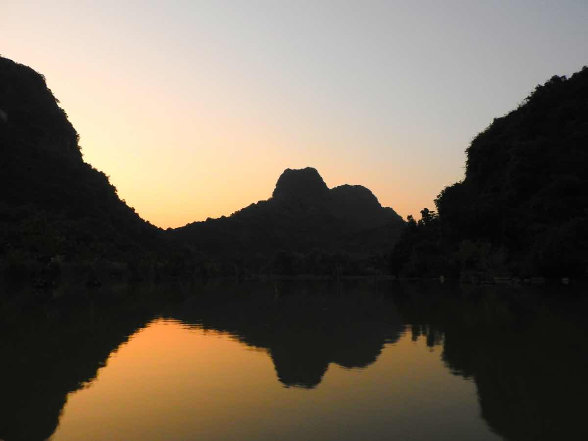route ninh binh itinerary thung nham bird park sunset