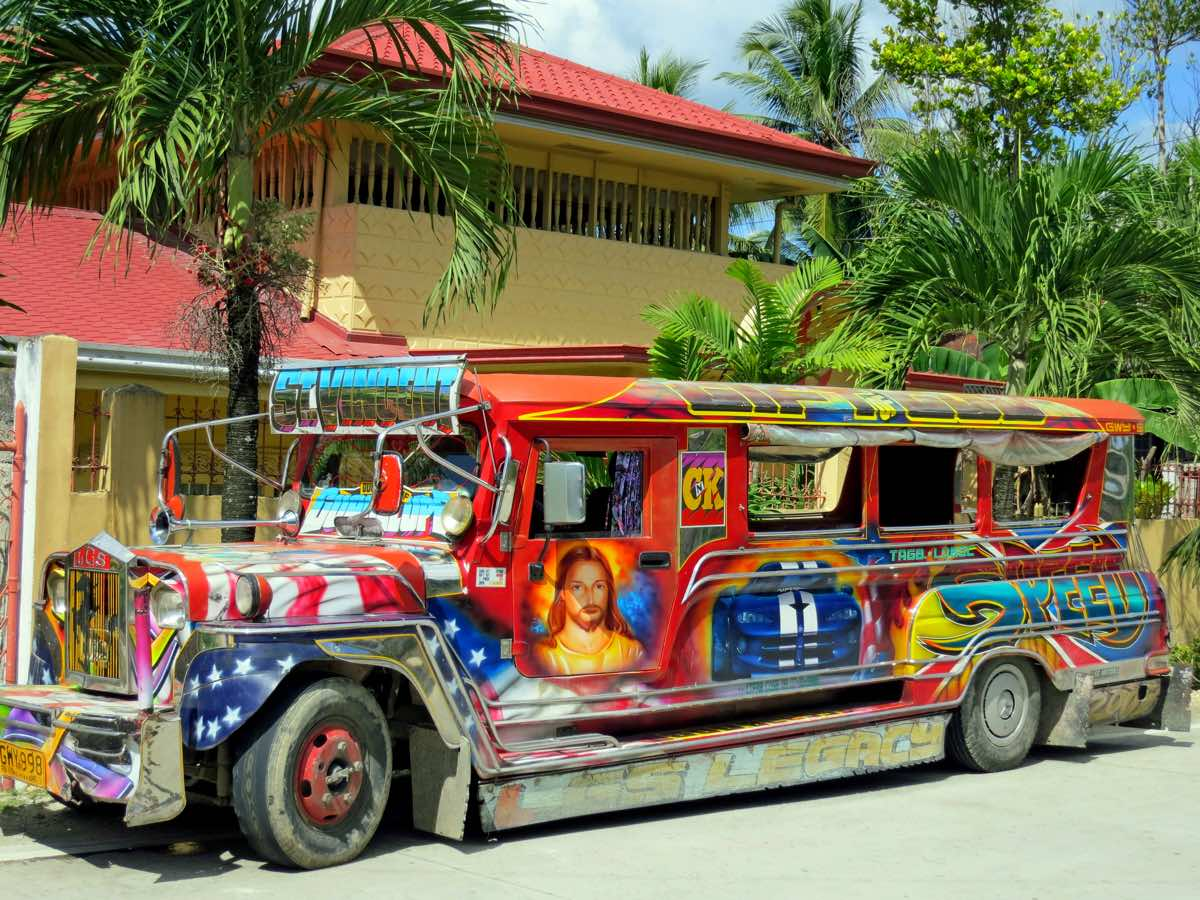 bohol travel guide budget itinerary getting around jeepney