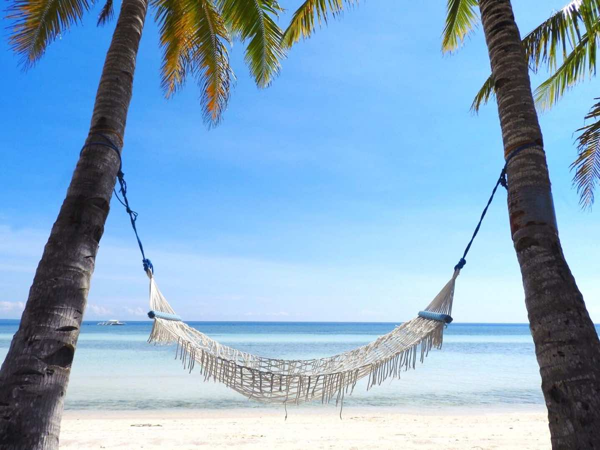 why go philippines reasons to visit beach hammock