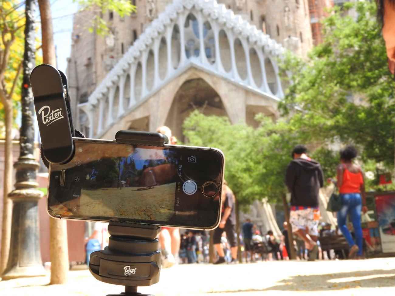 best smartphone camera lens review barcelona