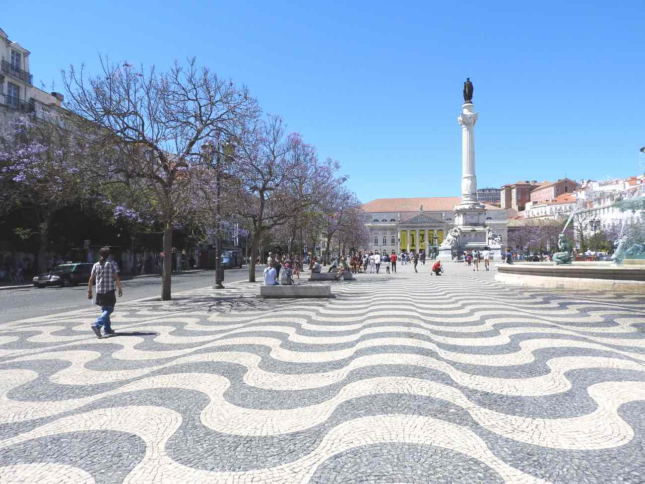 lisbon 3 day itinerary rossio square what to see and do lisbon