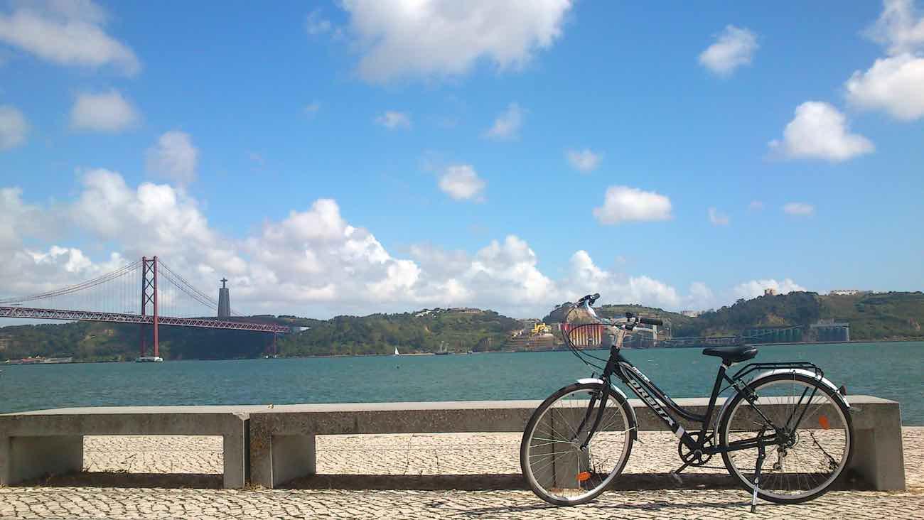 lisbon hidden gems secrets biking belem river tejo