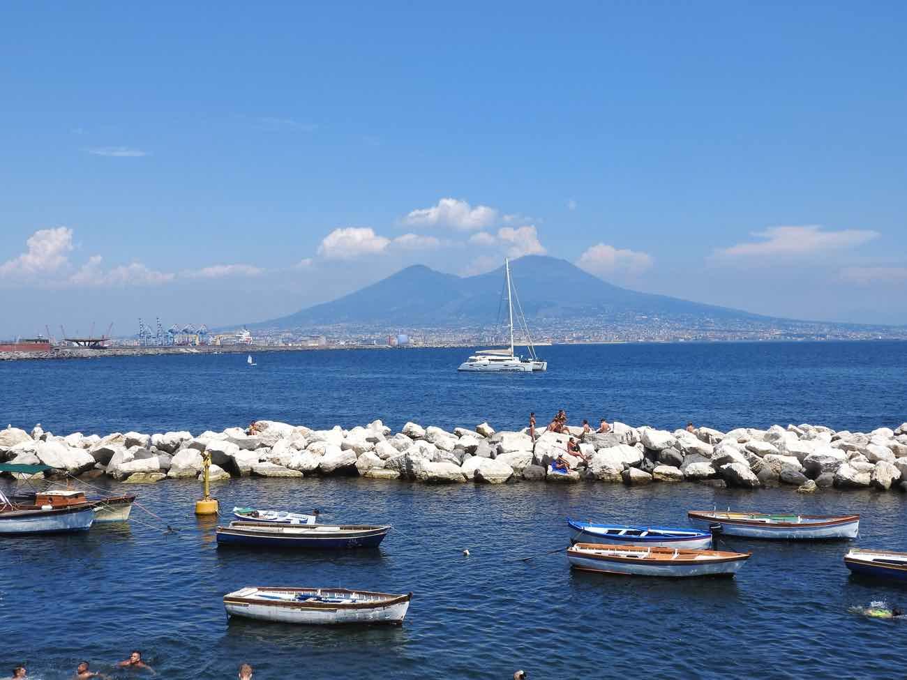 planning a trip to naples italy amalfi coast pompeii vesuvius - naples napoli sea
