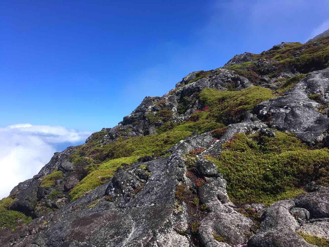 mount pico mountain azores climb landscape
