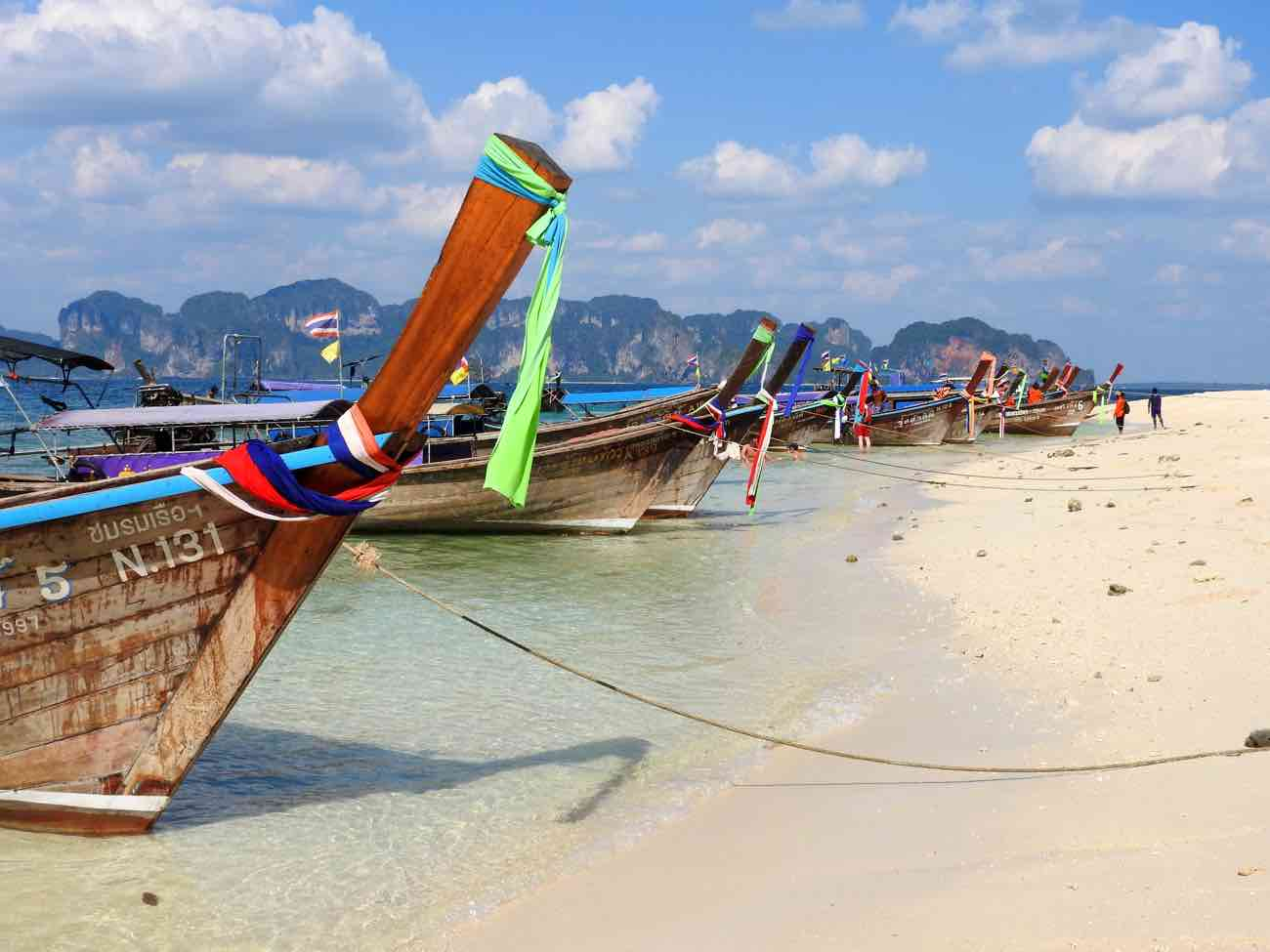 thailand itinerary 2 weeks beaches islands krabi
