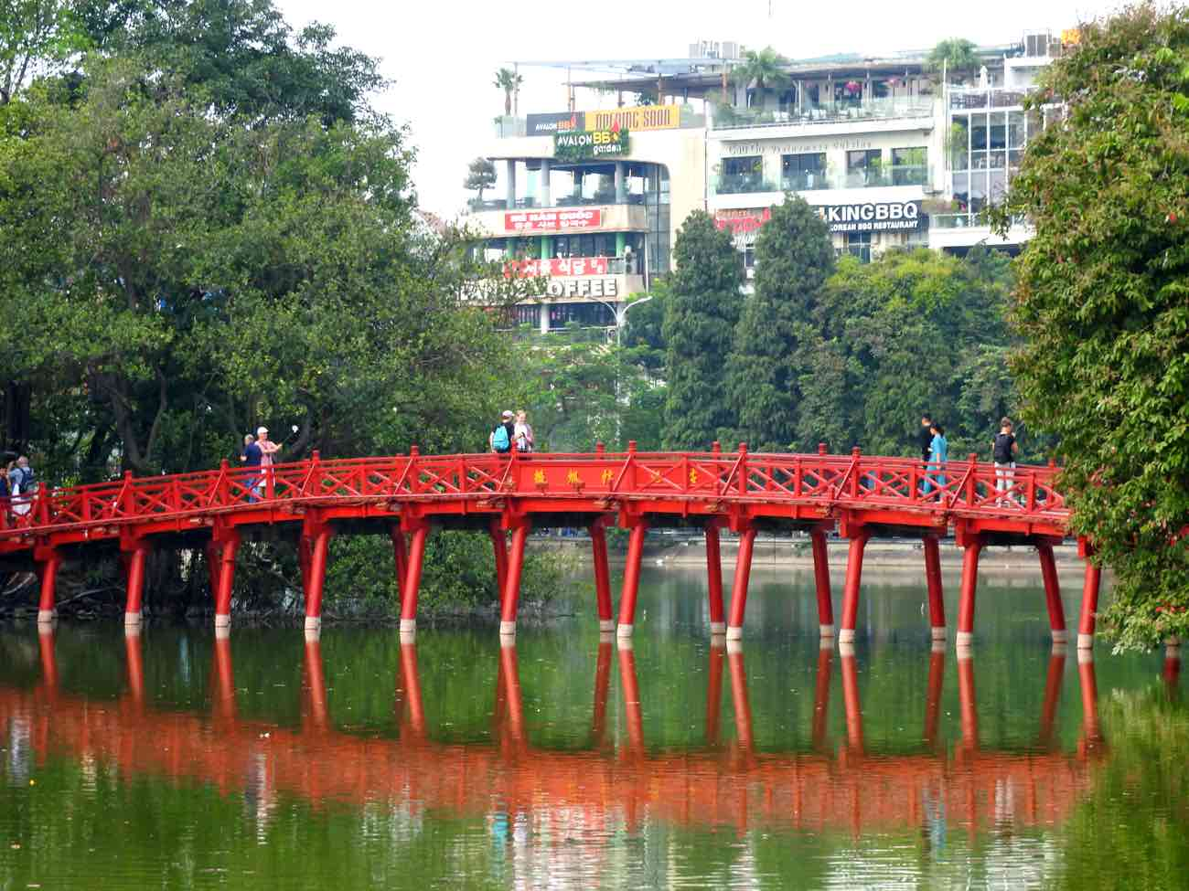 hanoi vs ho chi minh city saigo red bridge hanoi