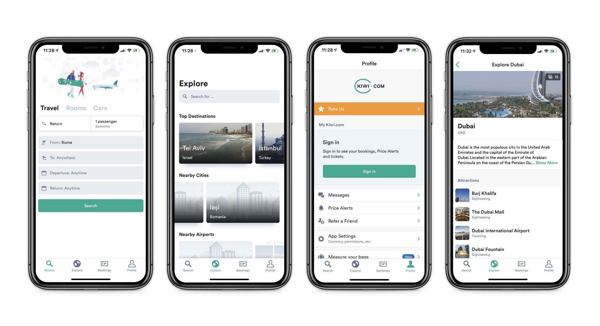 kiwi best apps find flights