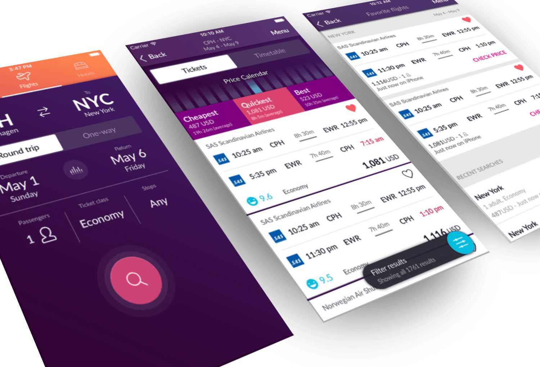 best app find cheap flights momondo