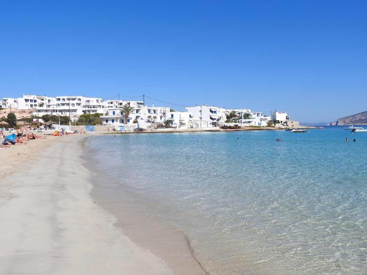 Koufonisia Travel Guide Ammos Beach