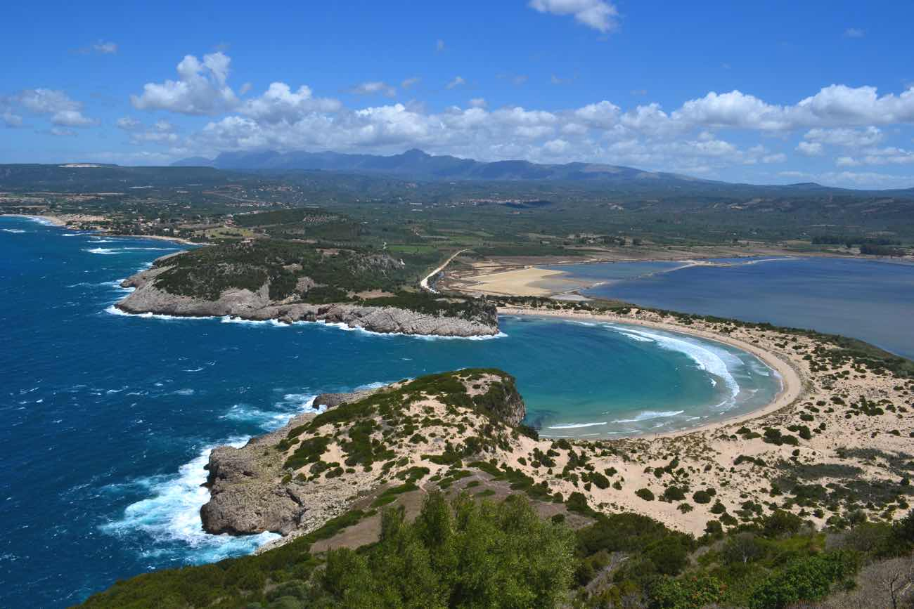 greece Voidokilia beach pelopponese