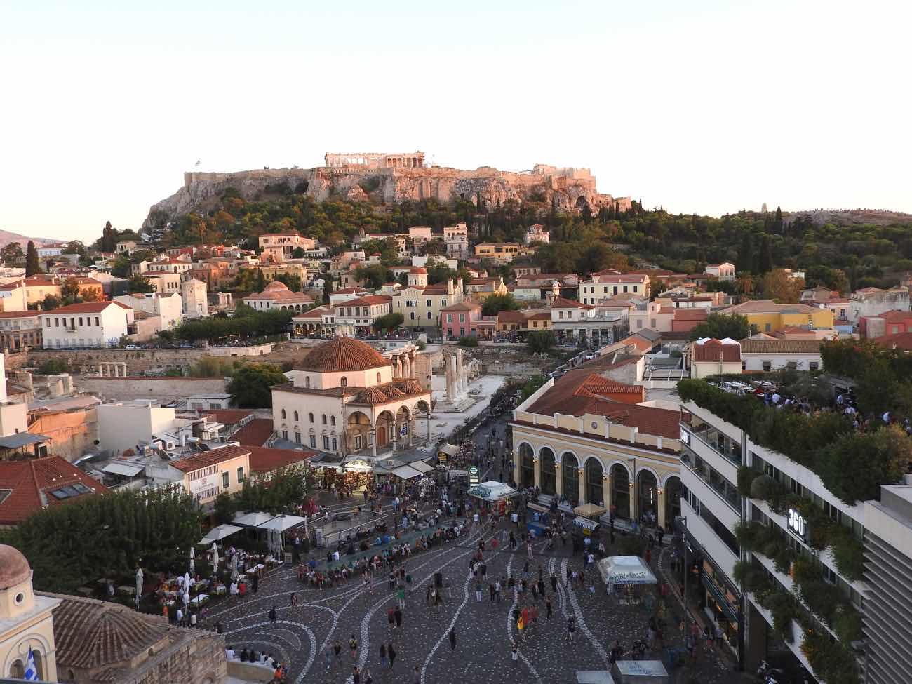 greece itinerary acropolis athens monastaraki