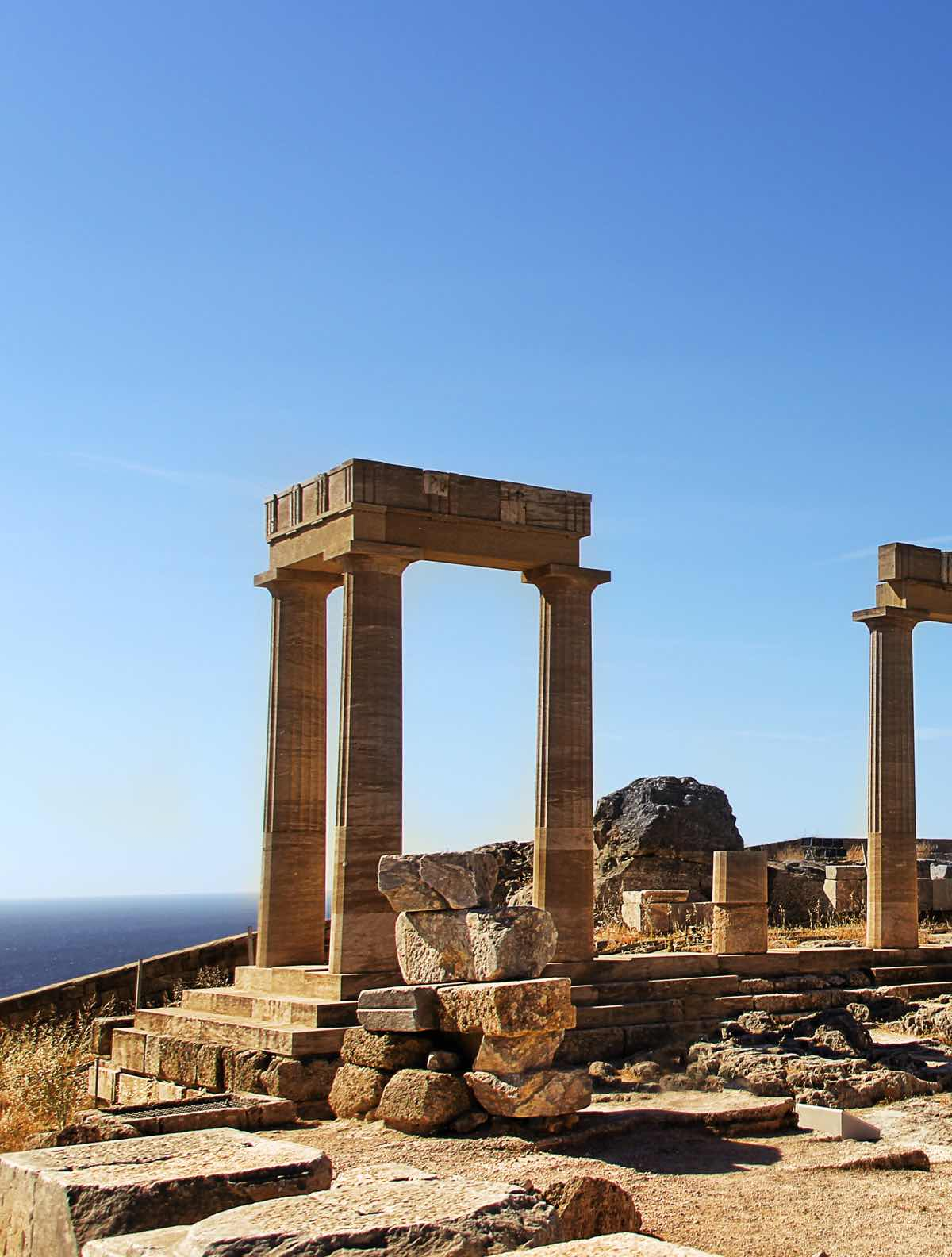 greece itinerary rhodes