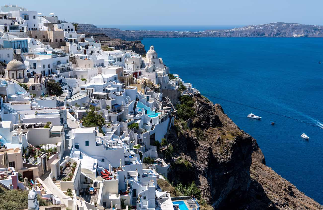 greece itinerary travel blog santorini fira