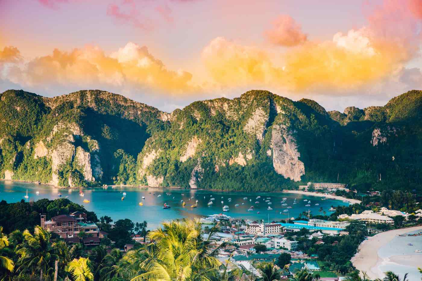 Thailand Island Hopping phi phi islands viewpoint