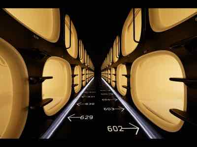 japan best capsule hotels to stay