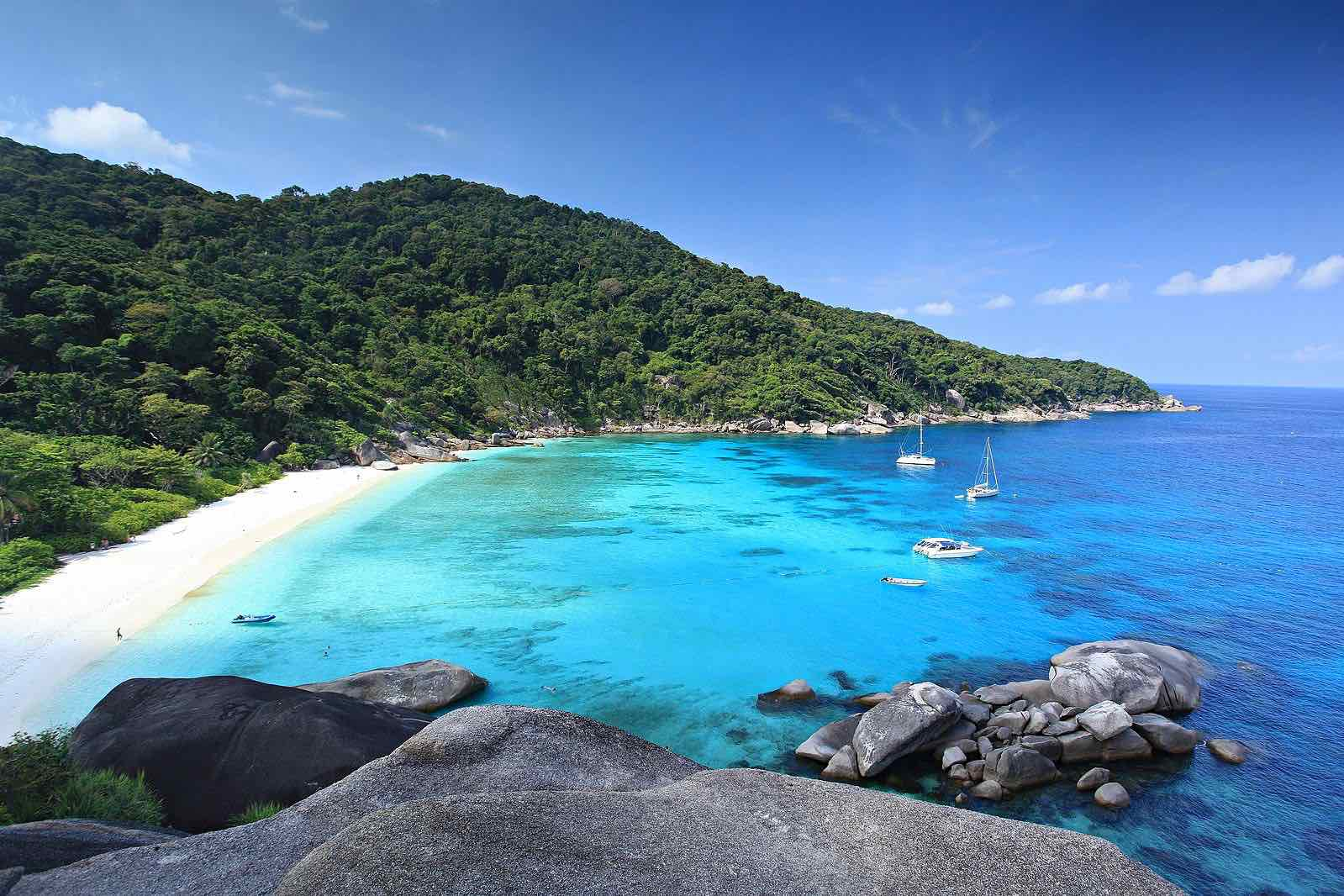 andaman sea islands thailand andaman coast similan islands
