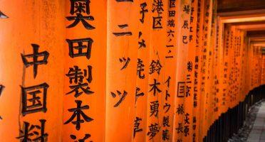 two weeks japan itinerary fushimi inari torii closeup