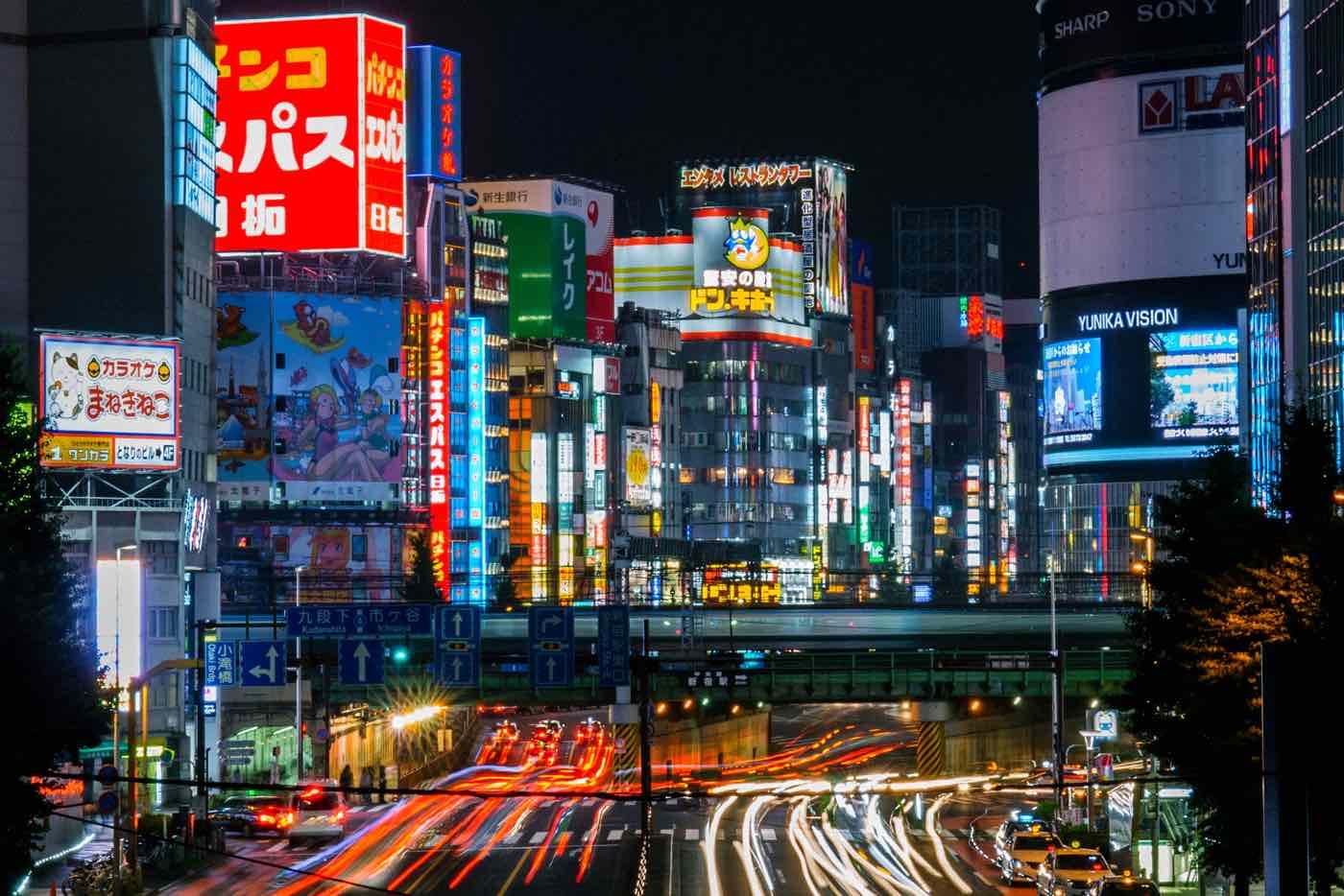 two weeks japan itinerary tokyo shinjuku