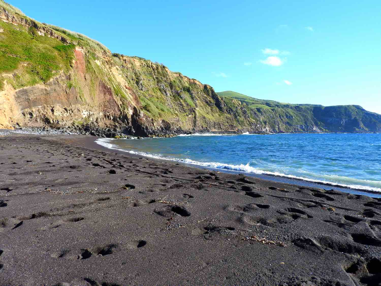 azores praia dos mosteiros beach sao miguel