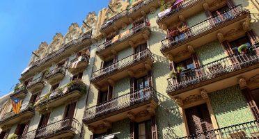 gracia barcelona buildings
