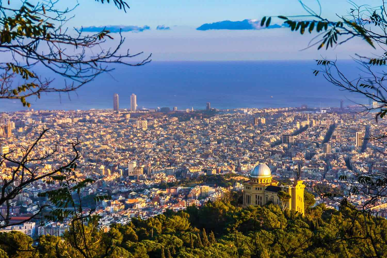 hidden gems observatory barcelona view