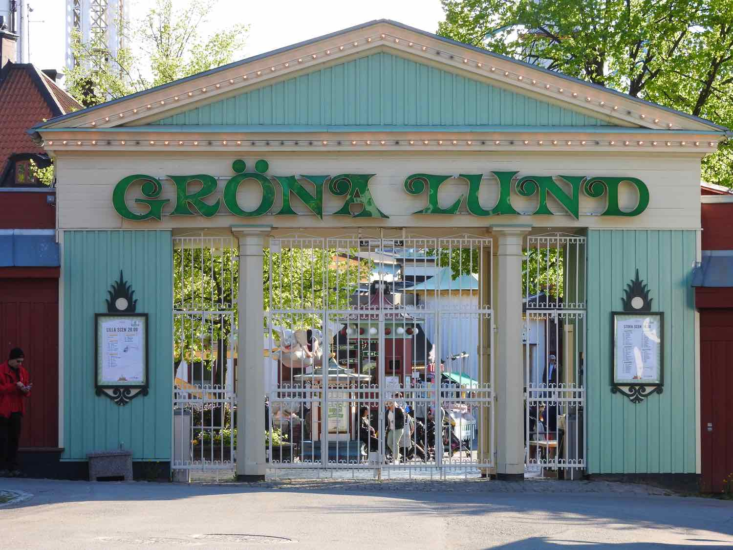 three days in stockholm itinerary grona lund