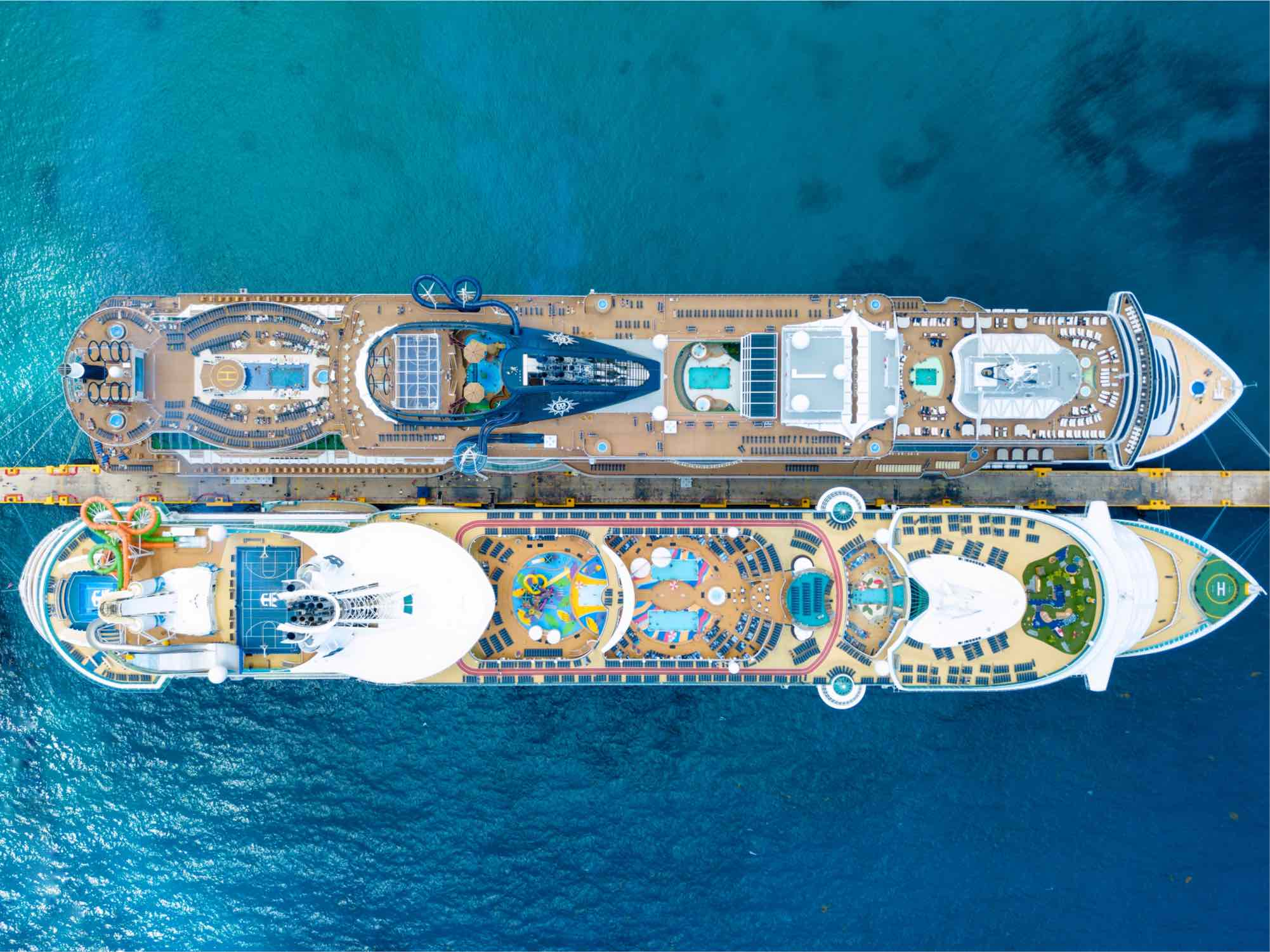 Cruise ship pollution above