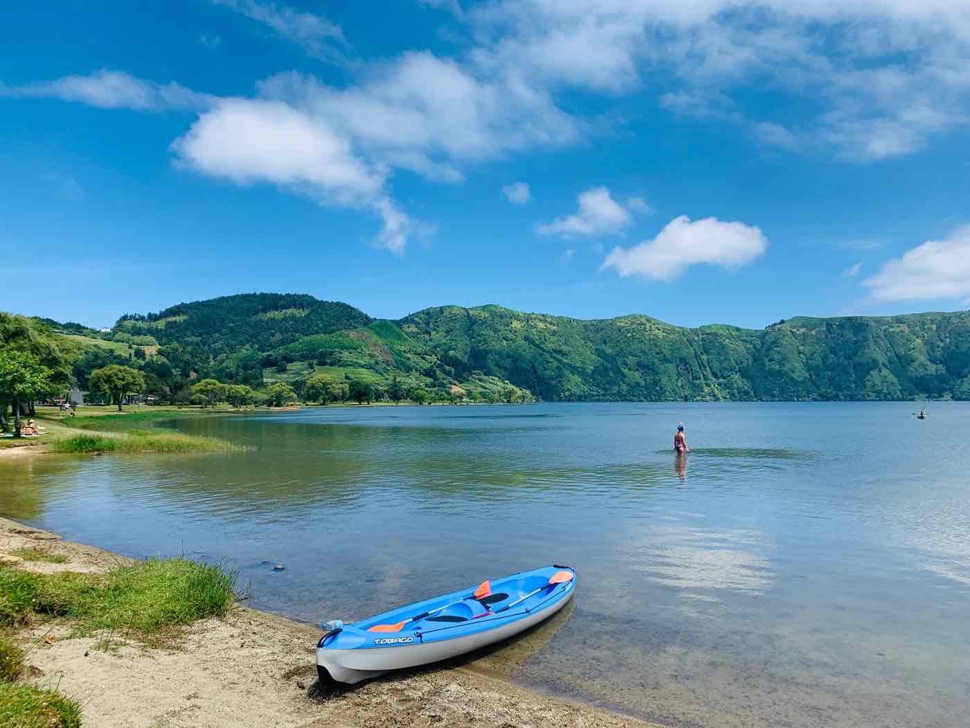 Outdoor activities Azores kayaking