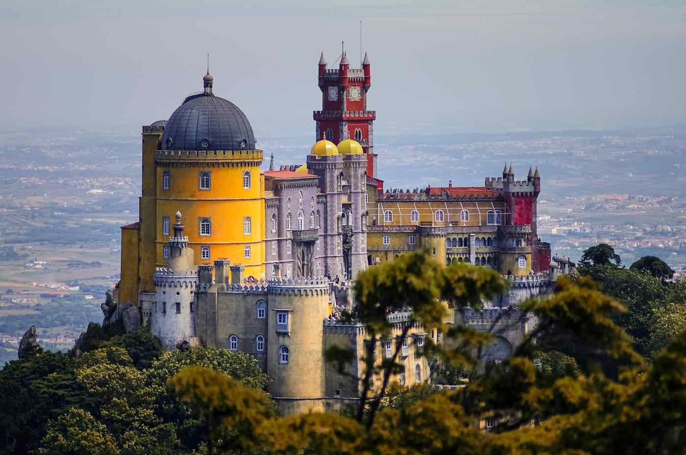 day trips from lisbon sintra pena palace