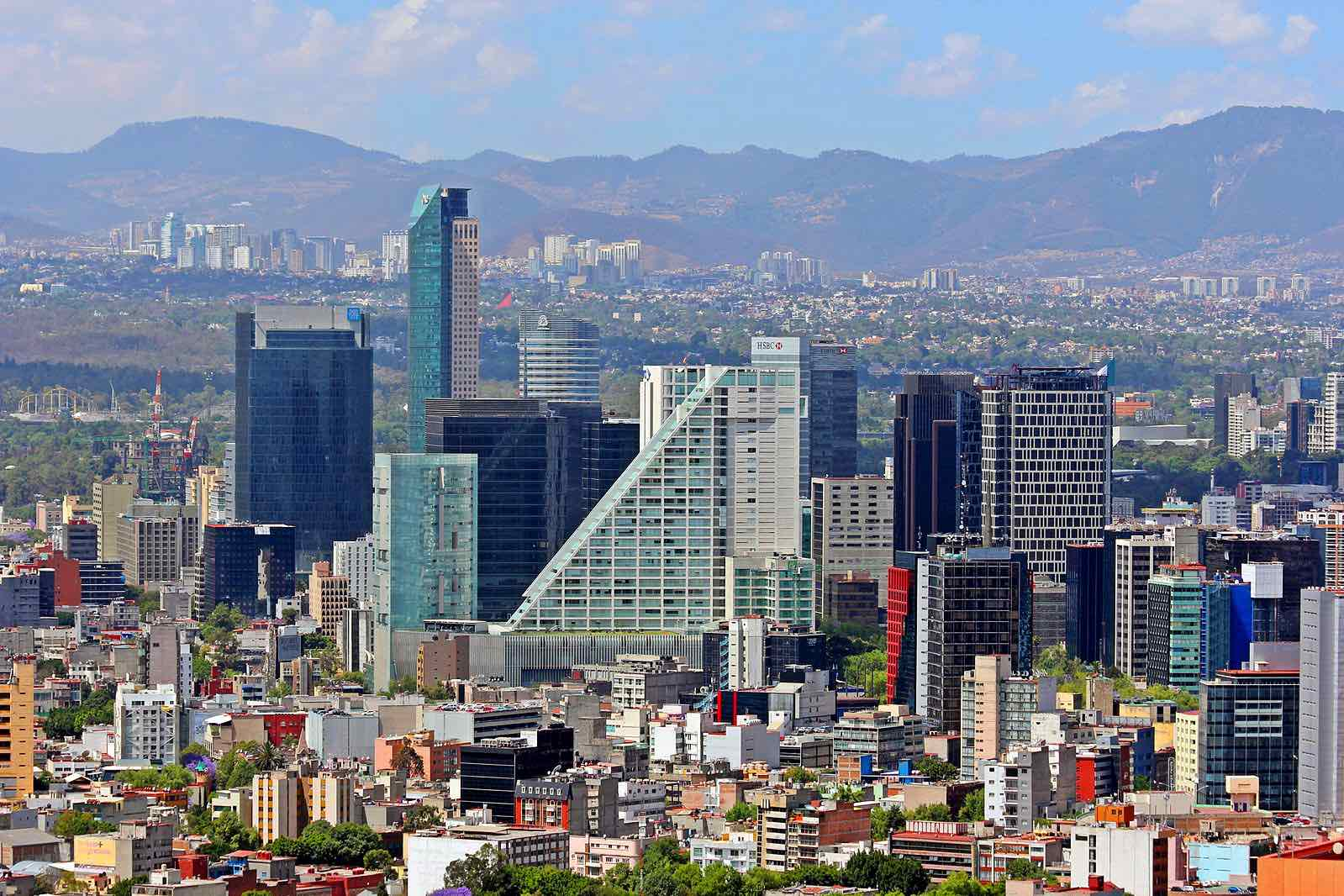 mexico city safety cityscape
