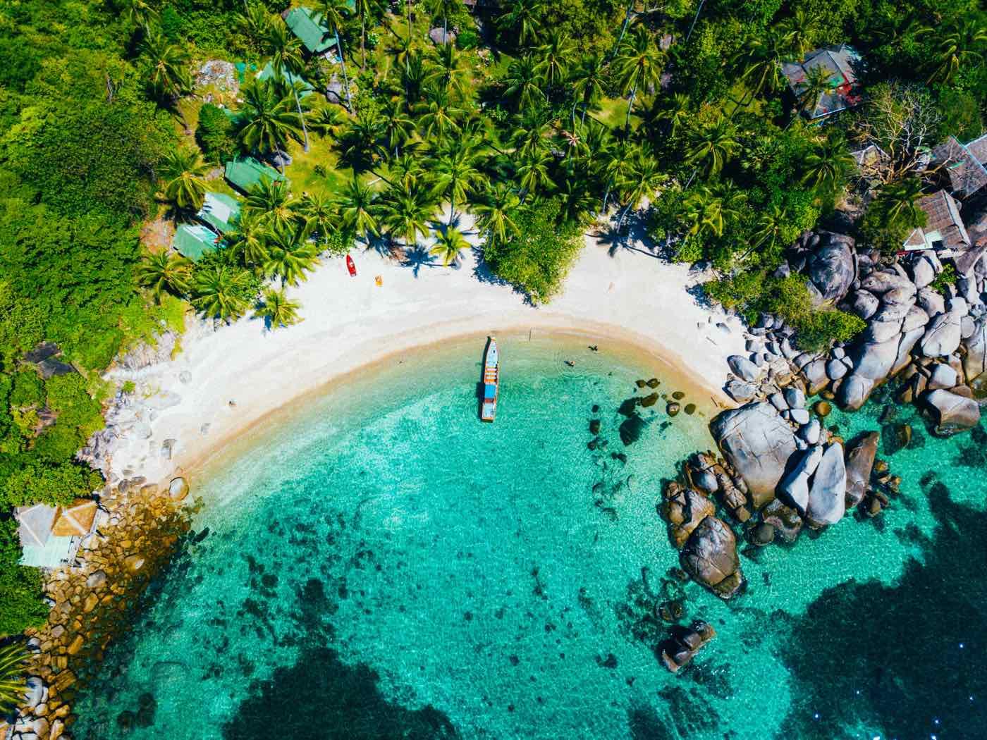thailand island hopping koh tao cove