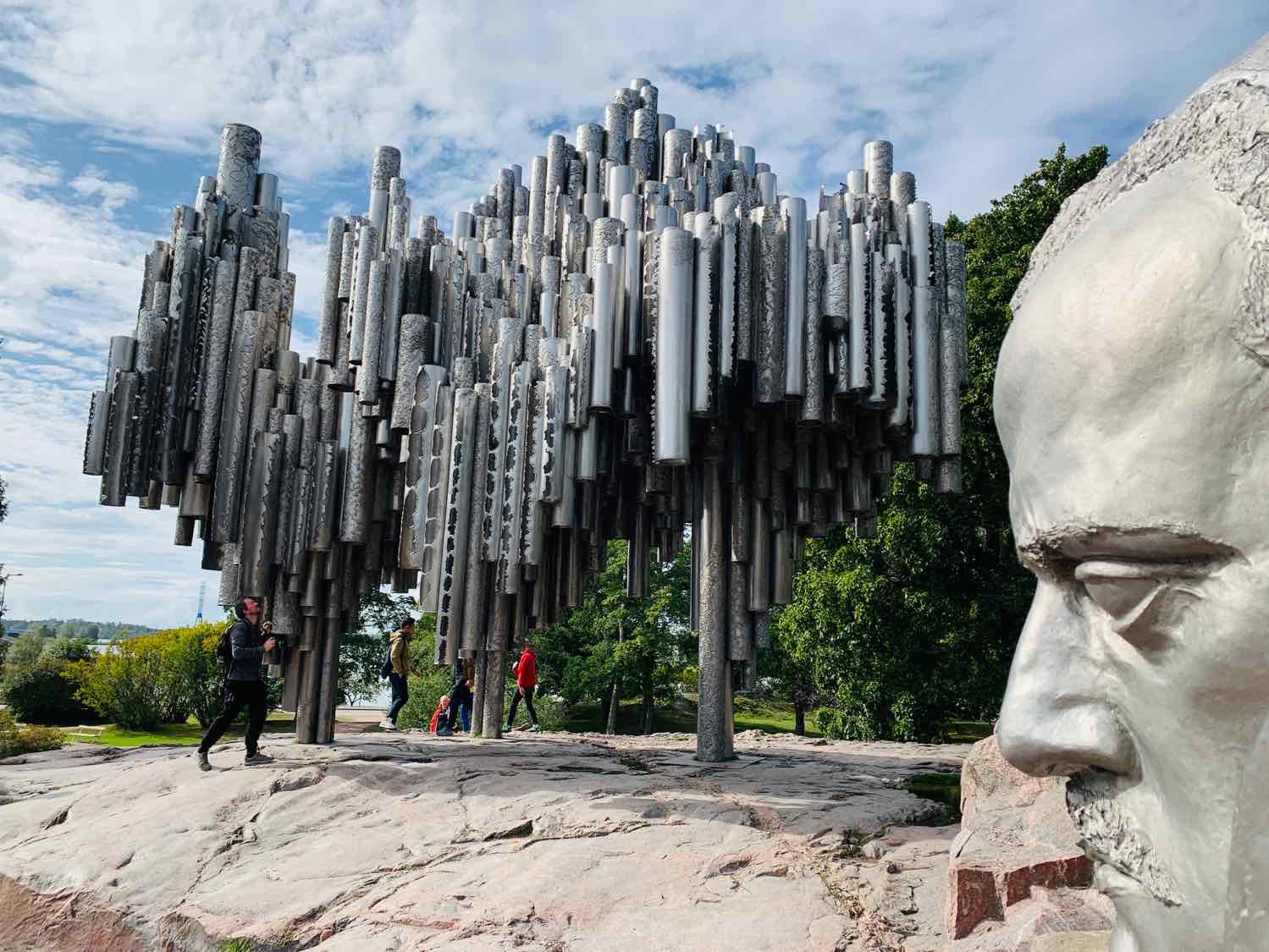 helsinki day trip from tallinn sibelius monument