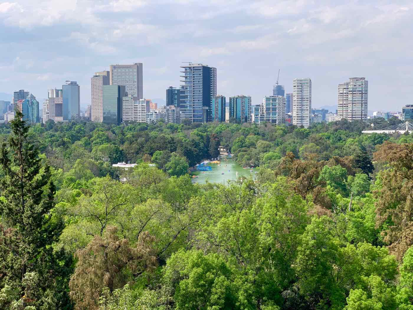 mexico city itinerary chapultepec park