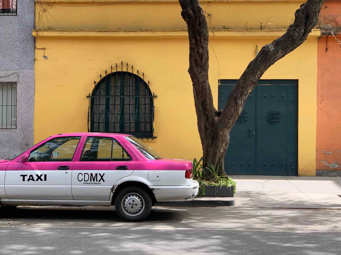 mexico city itinerary taxi