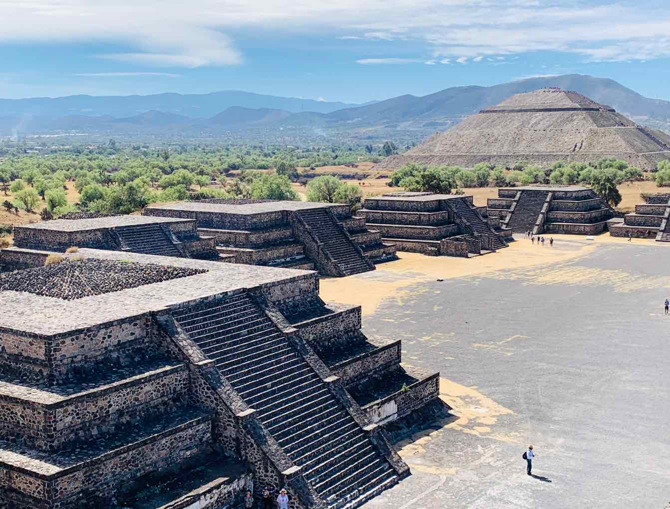 mexico city itinerary teotihuacan