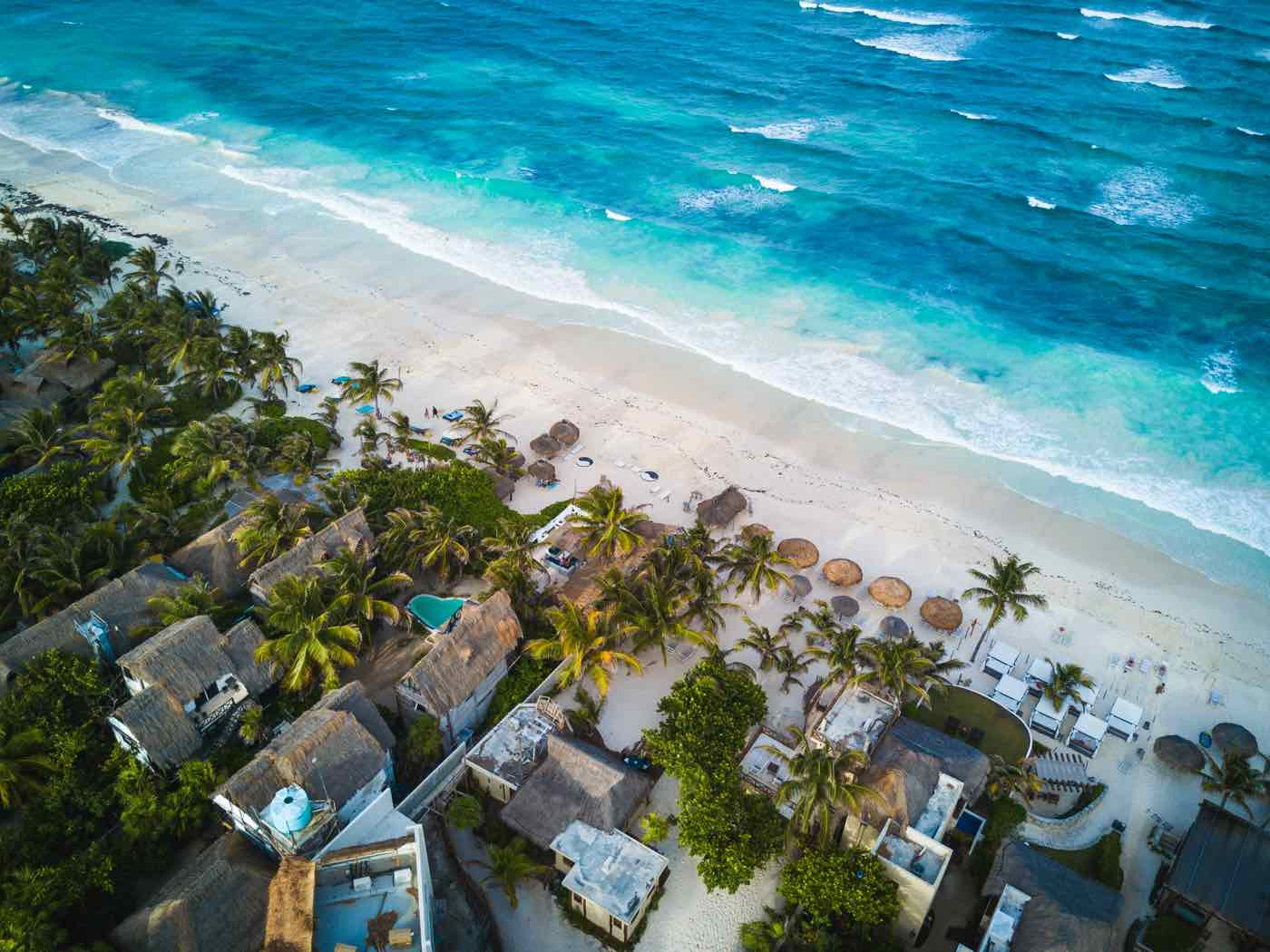 mexico itinerary tulum beaches