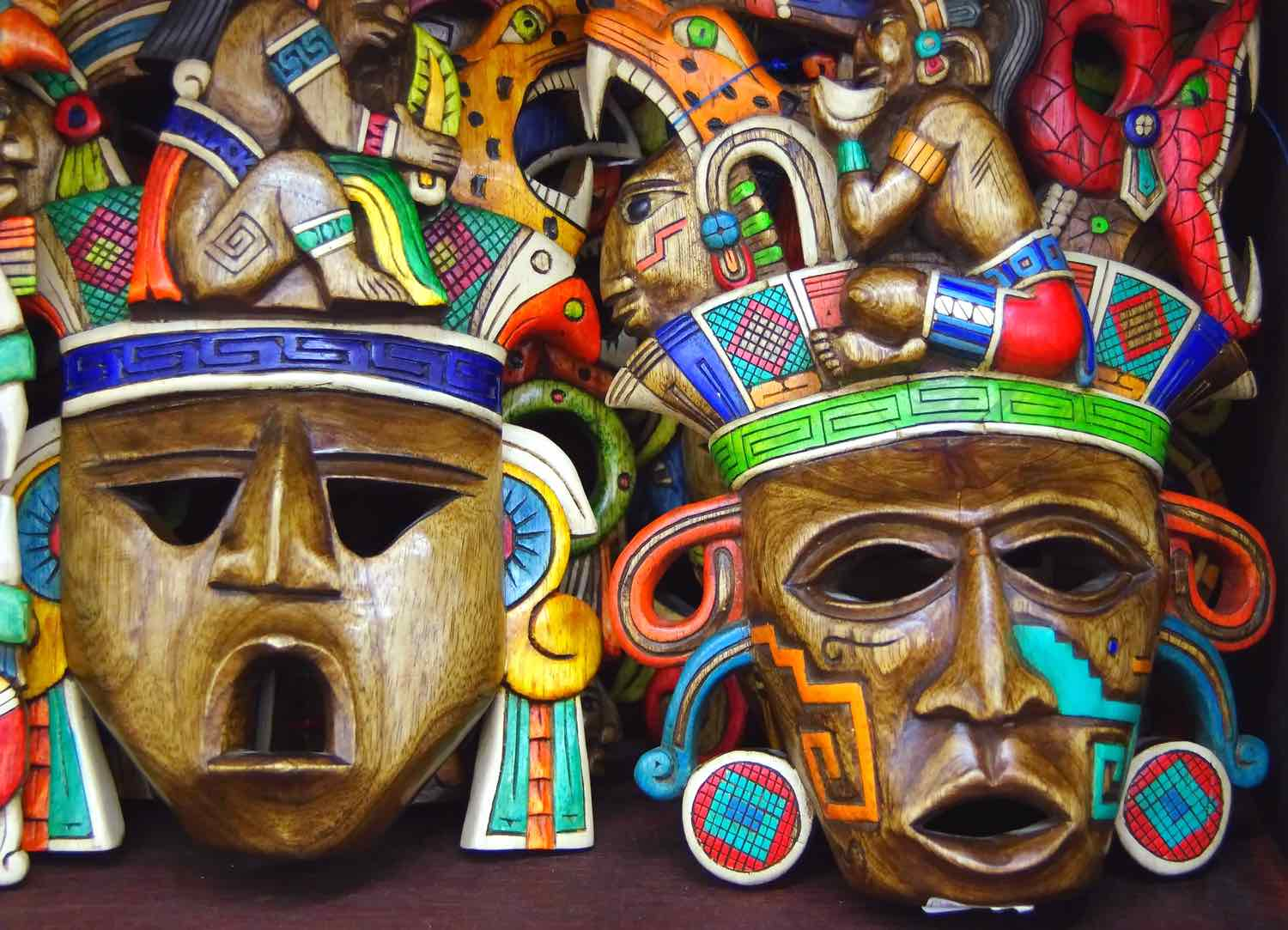 mexico itinerary masks
