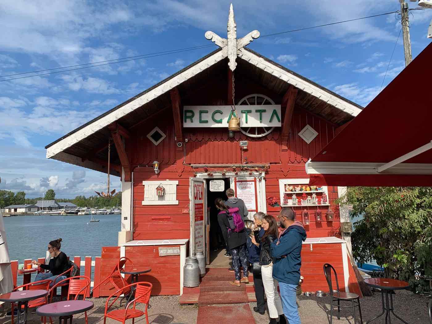 one day in helsinki regatta helsinki